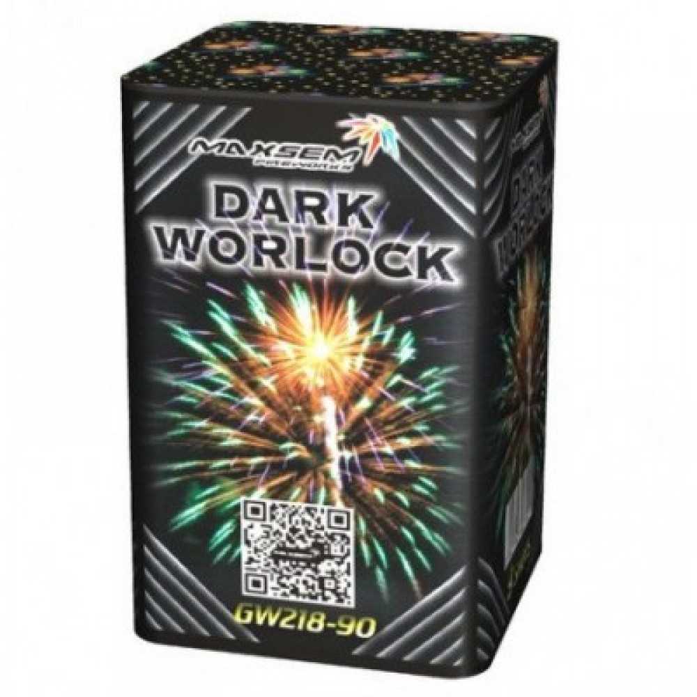 Фейерверк DARK WORLOCK Темный маг GW 218-90, 9 выстрелов