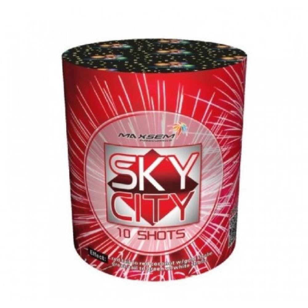 Фейерверк SKY SITY GW 218-96, 10 зарядов