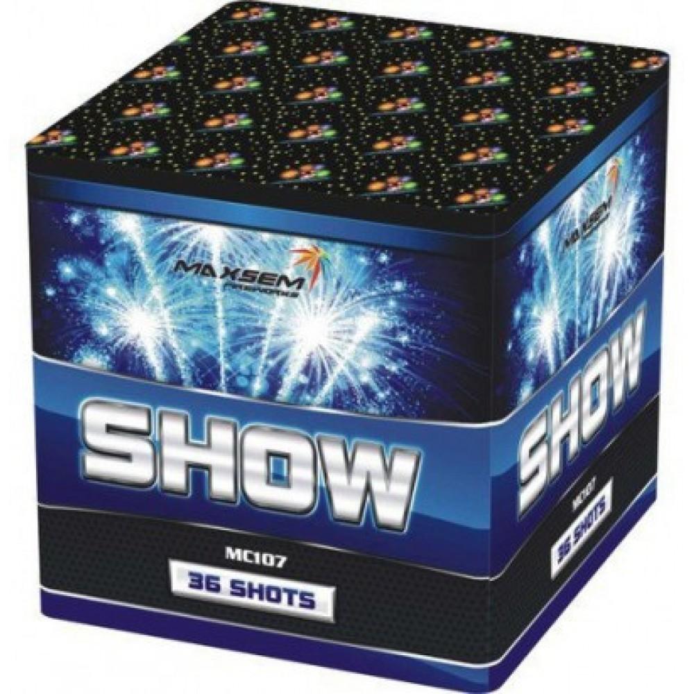 Салют SHOW Шоу MC 107, 36 выстрелов