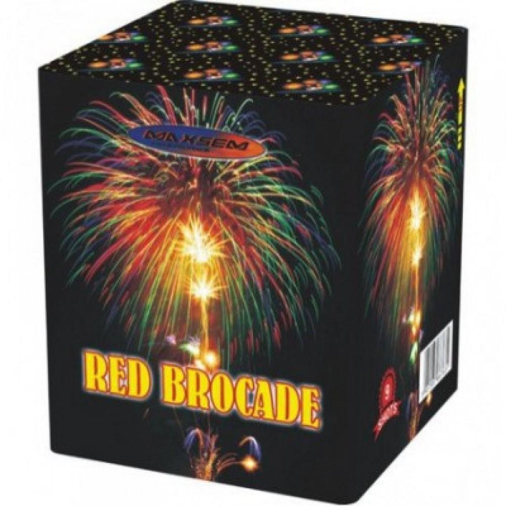 Фейерверк RED BROCADE Красная парча GW 218-73, 9 выстрелов