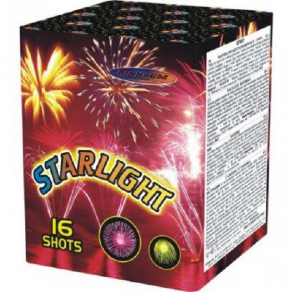 Фейерверк STARLIGHT GP 497, 16 выстрелов