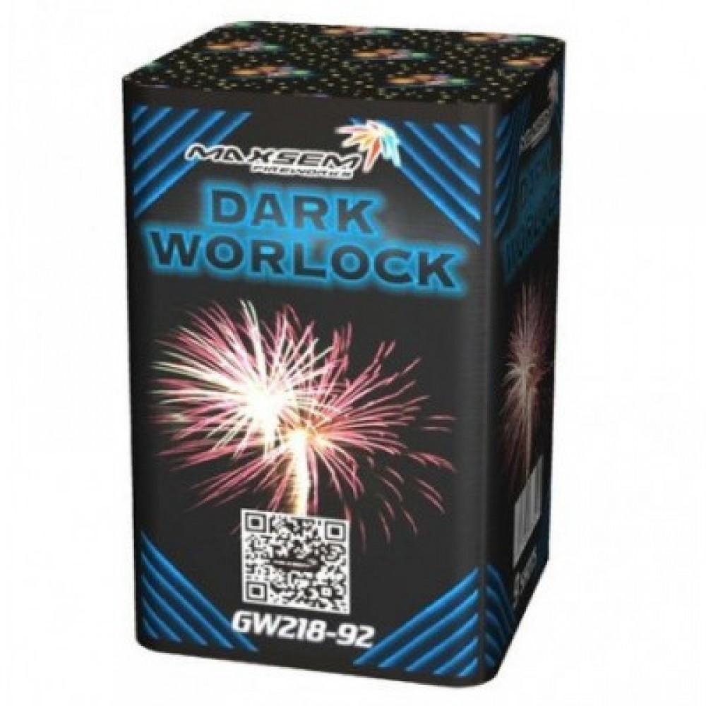 Фейерверк DARK WORLOCK GREEN Темный Маг GW 218-92, 9 выстрелов