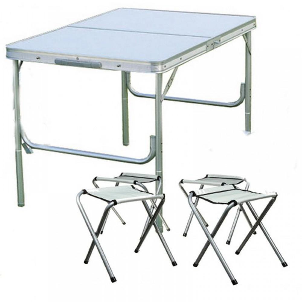 Стол раскладной + 4 стула Picnic Table (6001)  для пикника