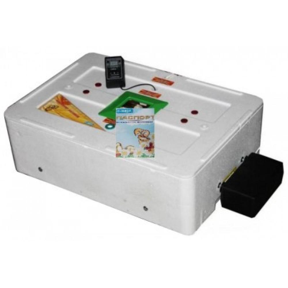 Инкубатор Курочка Ряба 63 автомат цифровой литой корпус вентилятор 4 лампы