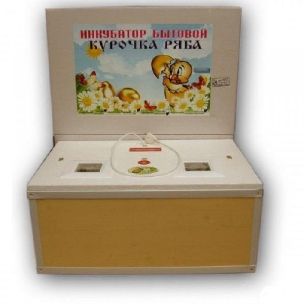 Инкубатор Курочка Ряба 100 механика цифровой обшит пластиком