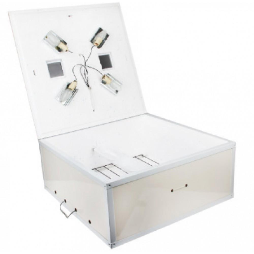 Инкубатор Курочка Ряба 130 механика аналоговый резанный пенопласт метал уголок