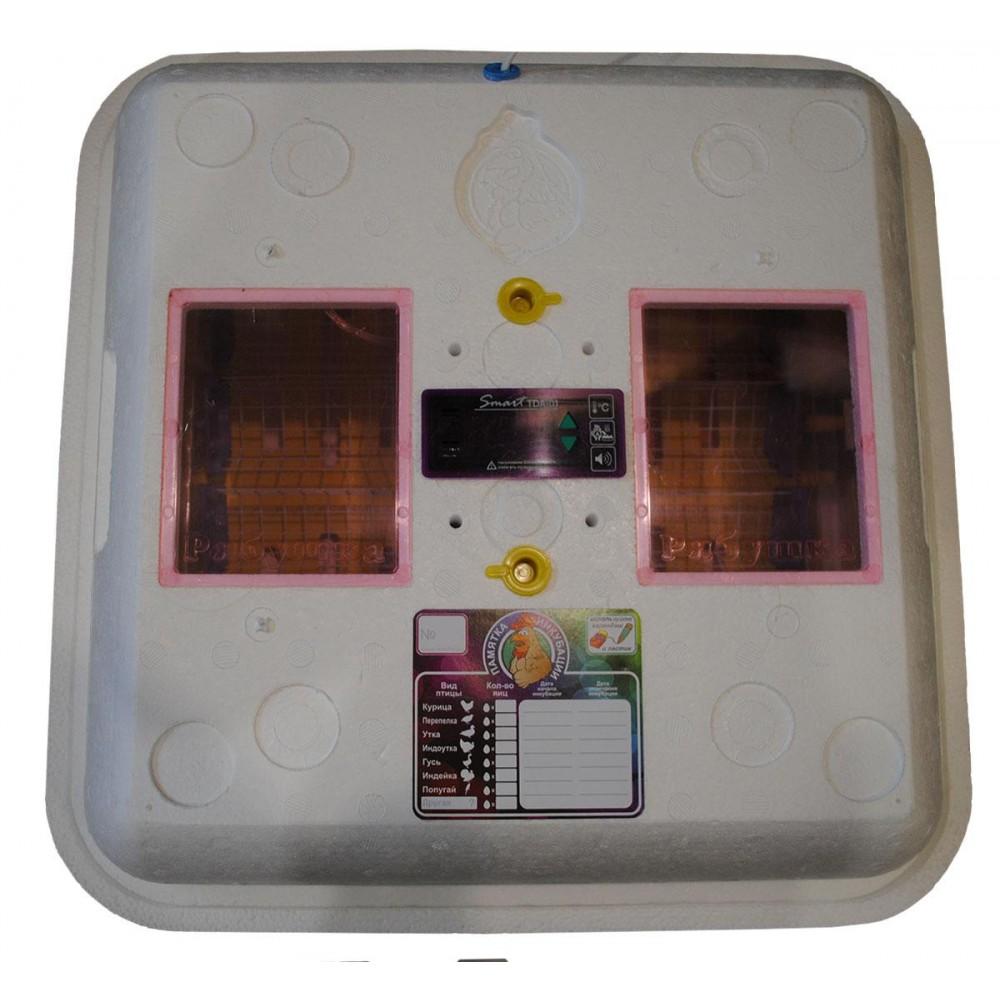 Инкубатор Рябушка 70 Smart ручной переворот, цифра, вентилятор