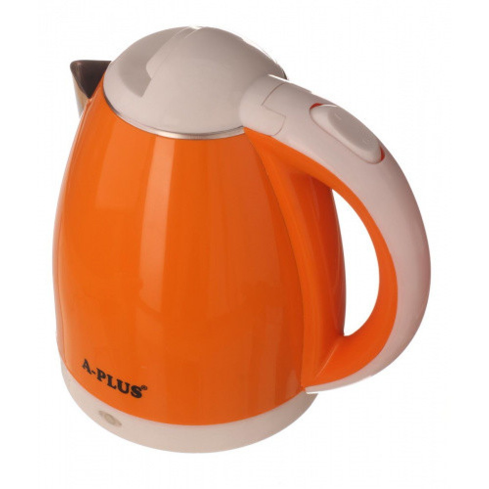 Электрочайник A-PLUS 2.0 л Нержавейка (2128) Оранжевый