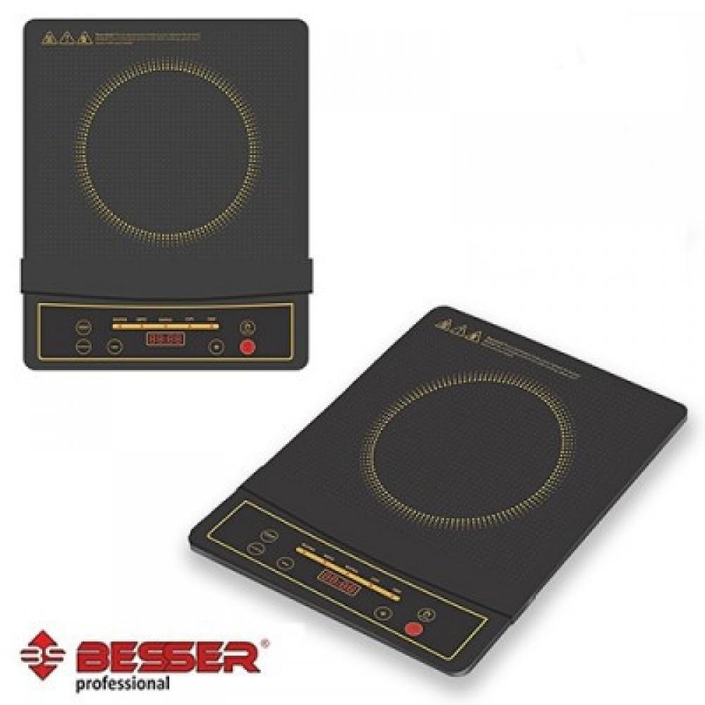Индукционная электроплита BESSER 10339, 2000 Ватт ,керамическая
