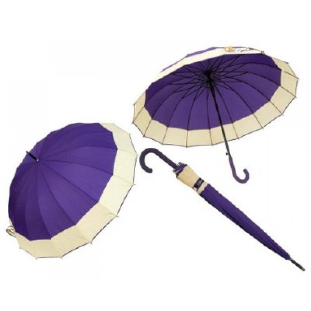 Зонт-трость полуавтомат Ziller ZL-402 6 расцветок