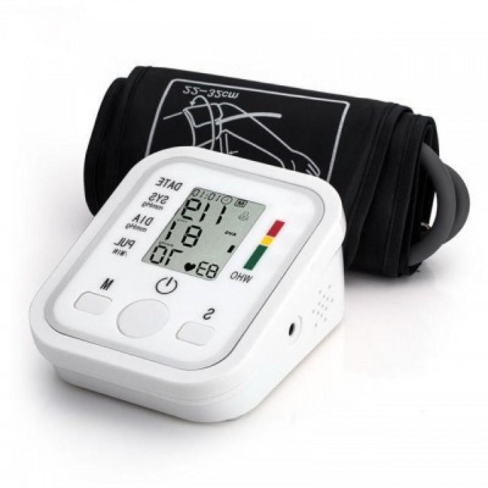 Тонометр автоматический HailiCare B02R на плечо с искусственным интеллектом и голосовым сопровождением