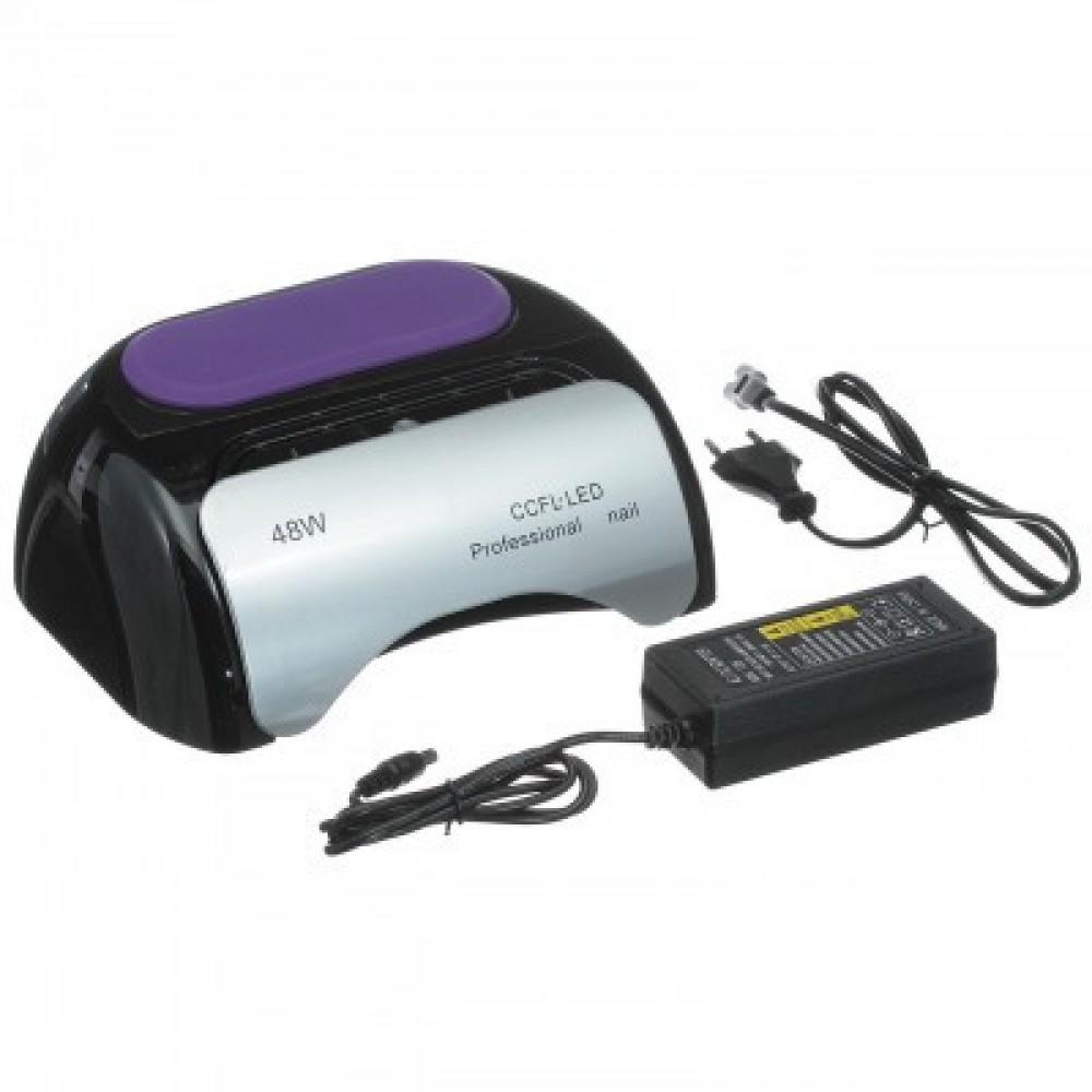 Лампа гибридная Beauty nail K18 48W CCFL+LED, черная