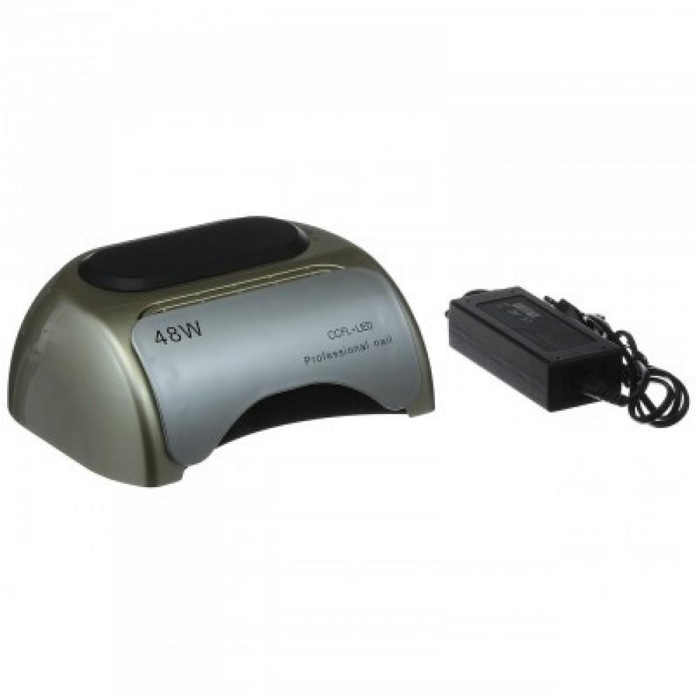 Лампа гибридная Beauty nail K18 48W CCFL+LED, серебро