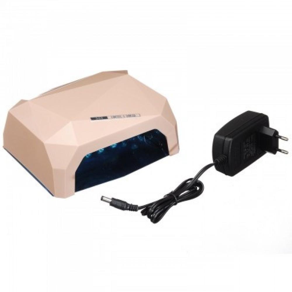 Лампа гибридная Beauty nail 36W CCFL+LED, бежевая