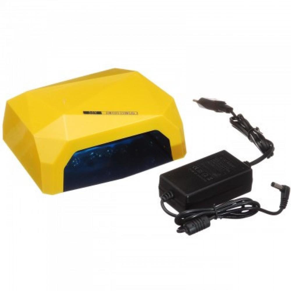 Лампа гибридная Beauty nail 36W CCFL+LED, желтая