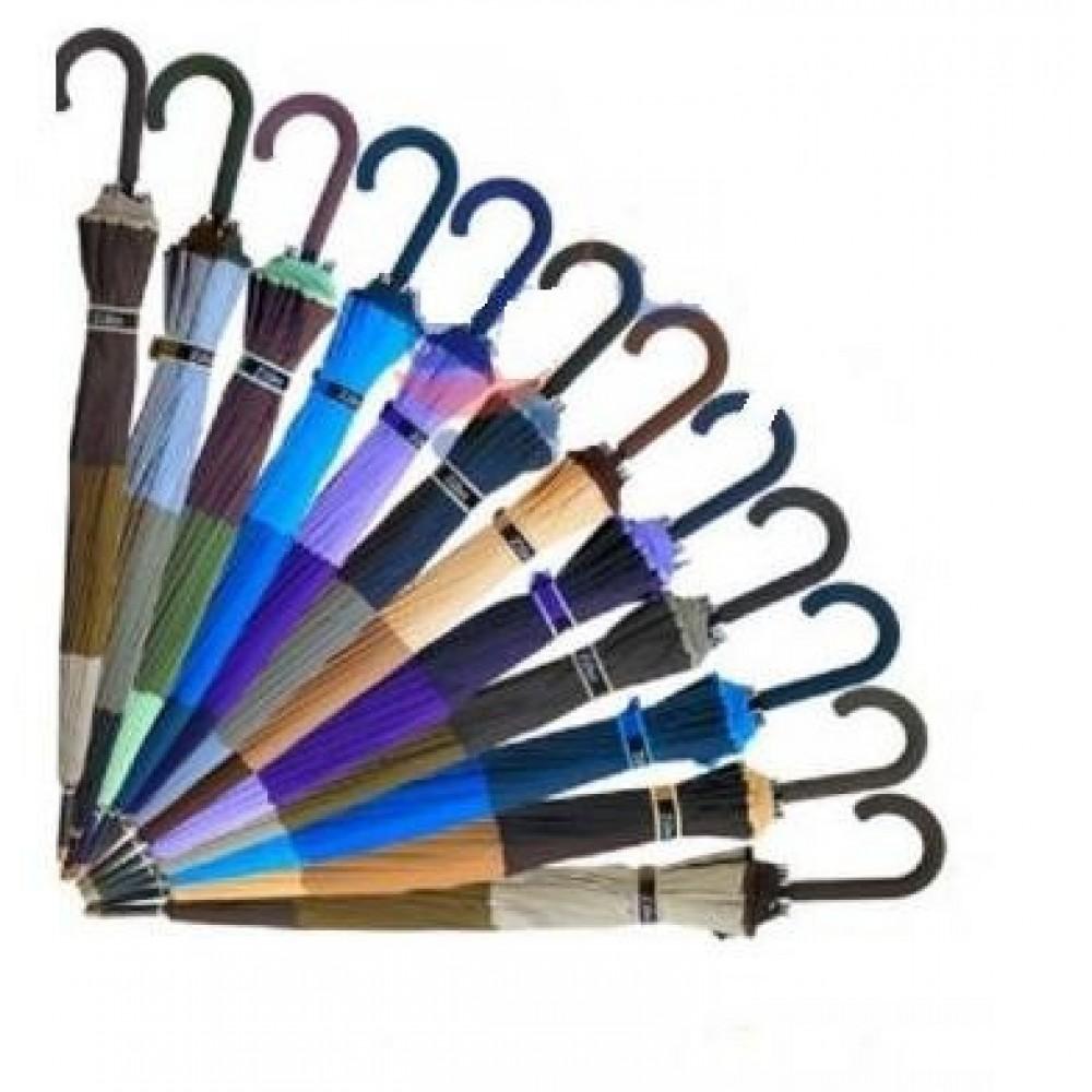 Зонт-трость полуавтомат Ziller ZL-403 разные расцветки