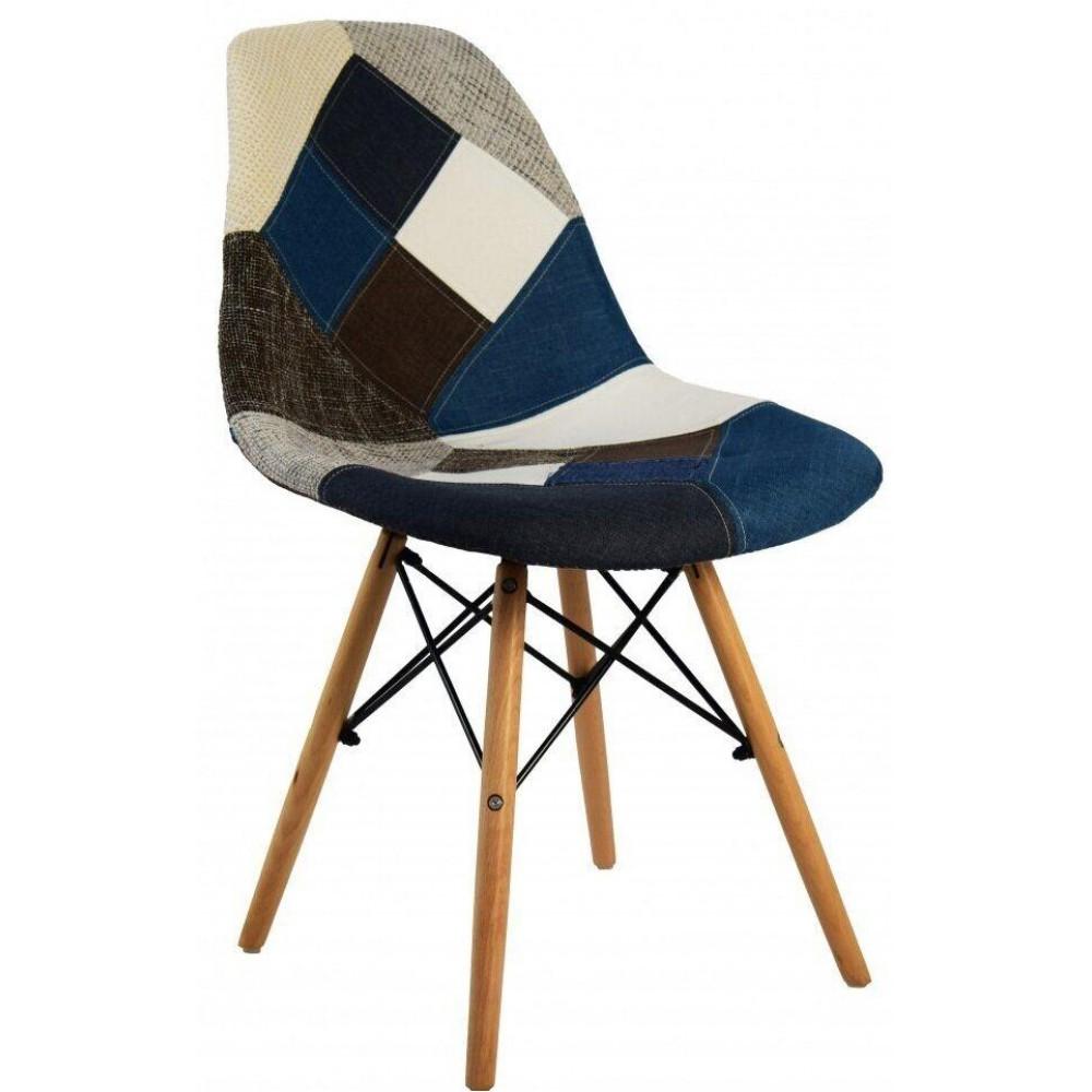 Кресло Bonro В-439 PW BW Patchwork