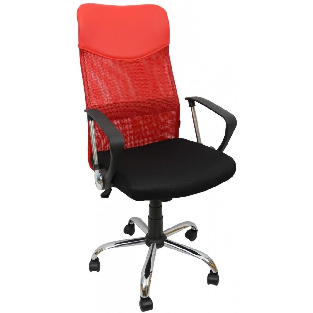 Кресло Bonro Manager Red
