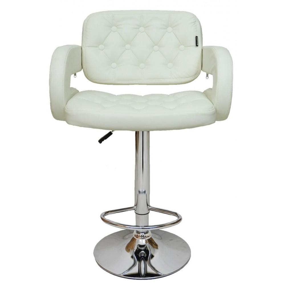 Барный стул хокер Bonro B-823A White