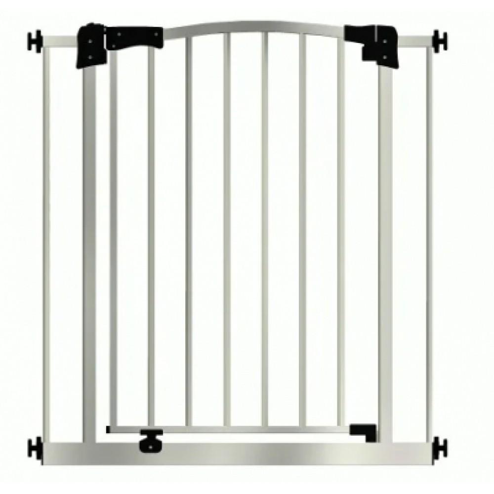 Детские ворота безопасности, межкомнатный барьер Maxigate 83-92 см, высота 107 см