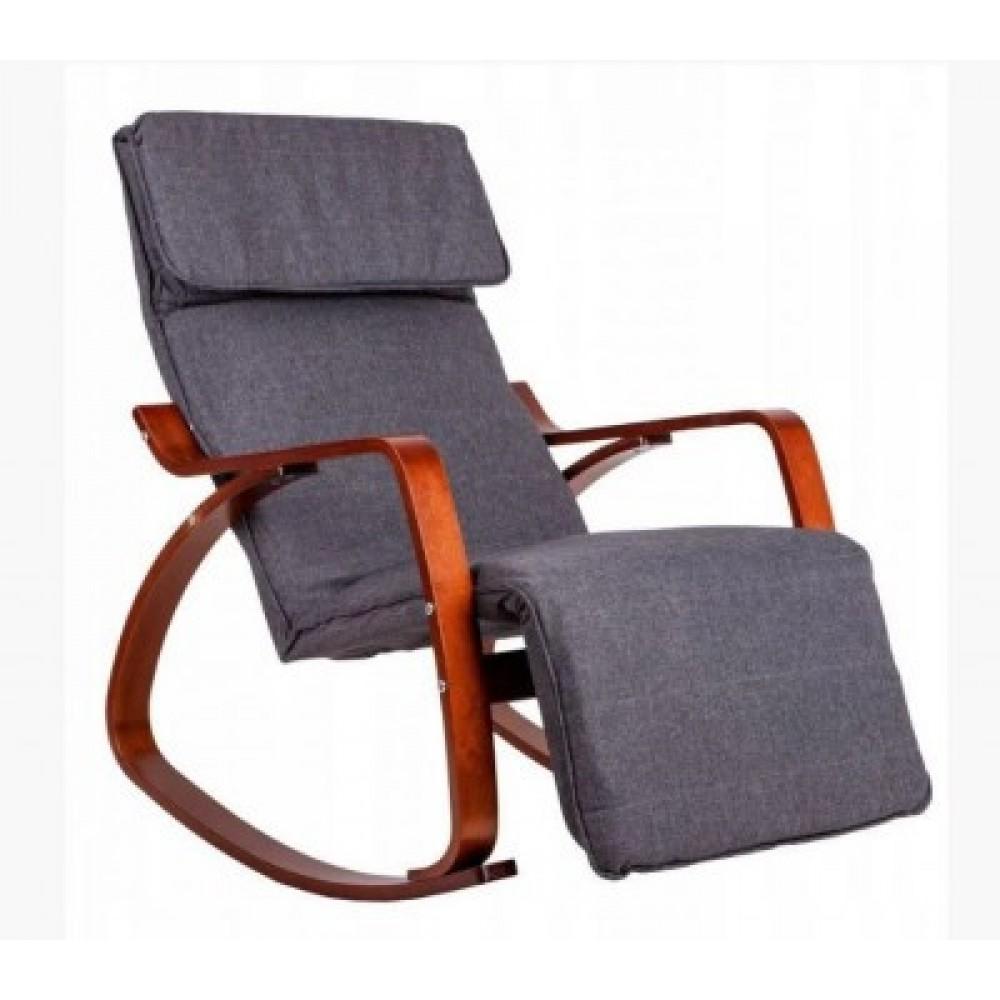 Кресло качалка GoodHome TXRC 002 Walnut