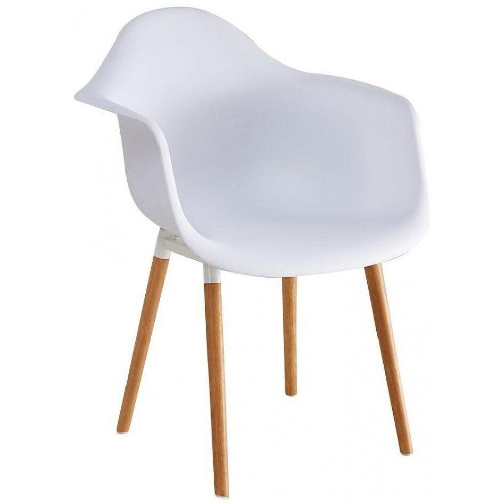 Кресло Bonro В-438 белое