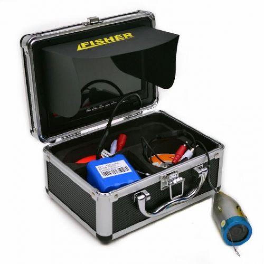 Подводная камера Fisher CR110-7L кабель 30м с отключением LED