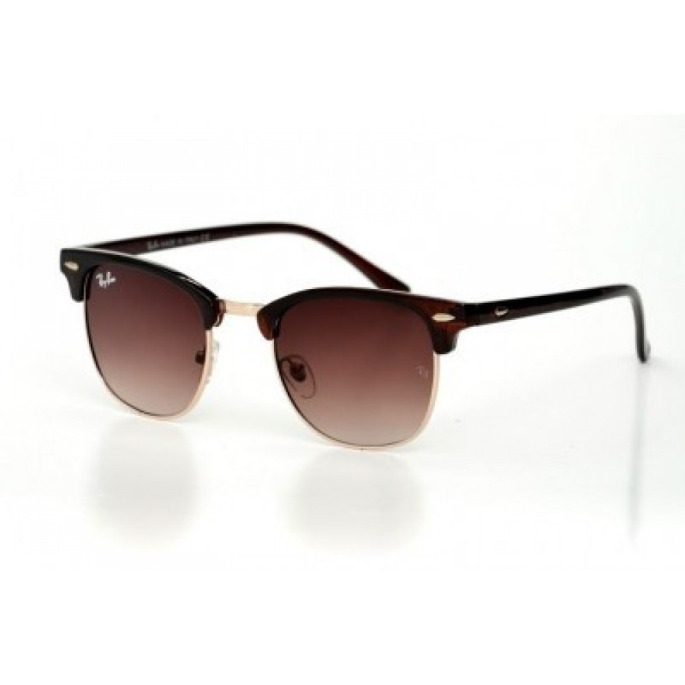 Солнцезащитные очки Ray Ban Clubmaster 3016C2, унисекс