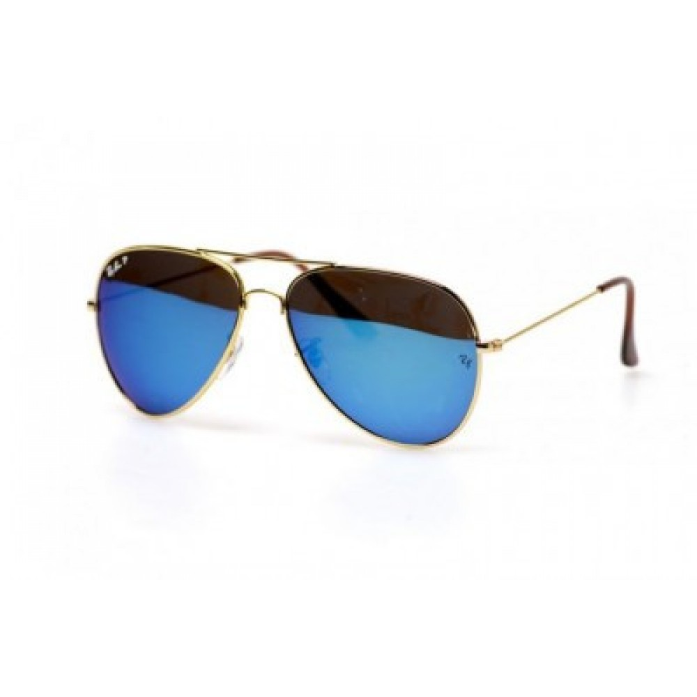 Солнцезащитные очки Ray Ban Aviator 3026W3278P, унисекс