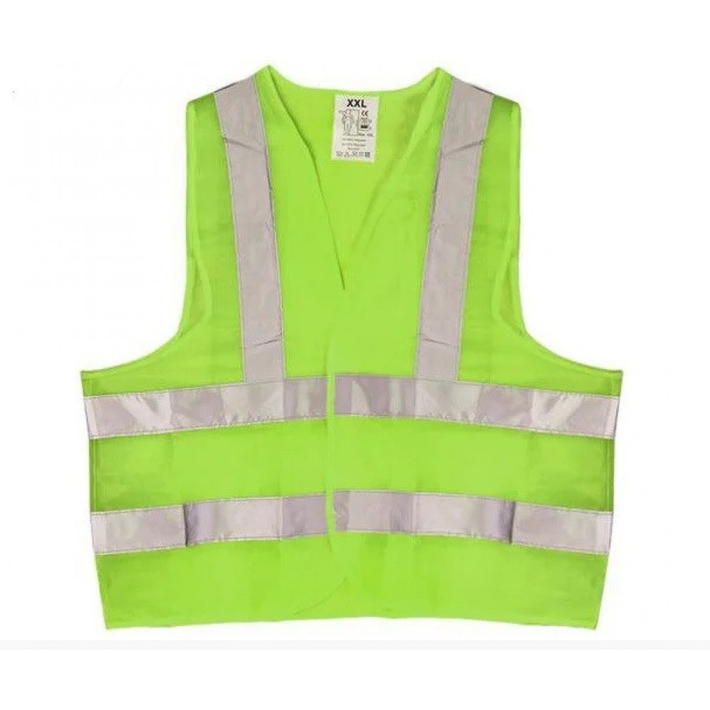 Жилет безопасности светоотражающий ЖБ-008 XXL green