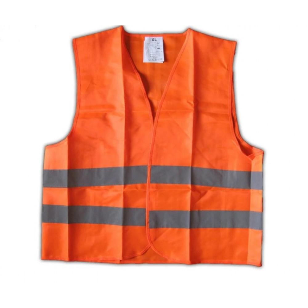 Жилет безопасности светоотражающий ЖБ-001 XL orange