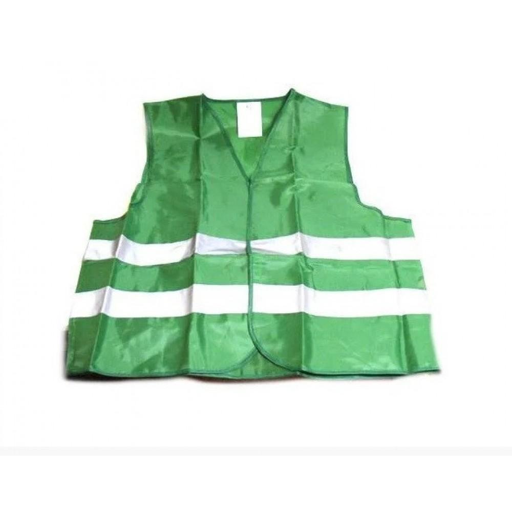 Жилет безопасности светоотражающий ЖБ-002 XL green