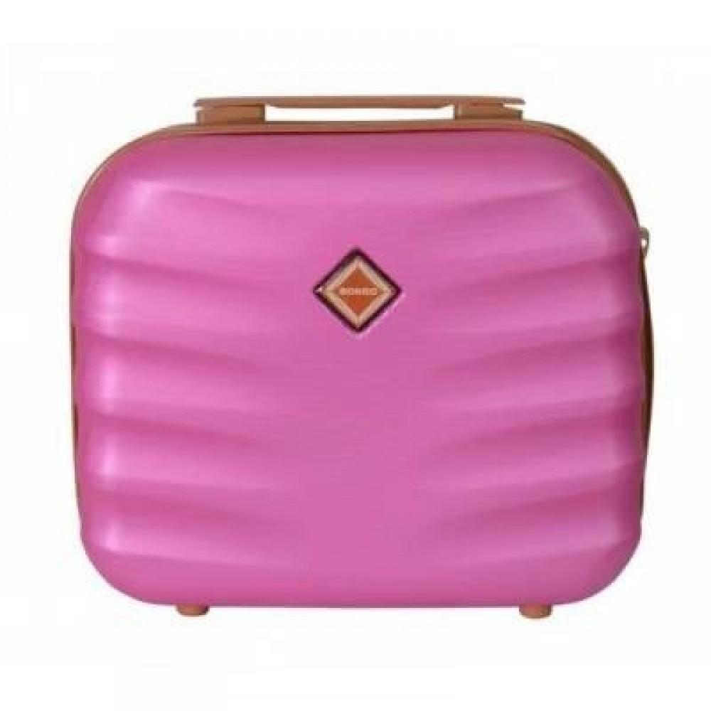 Сумка кейс саквояж Bonro Next средний, розовый