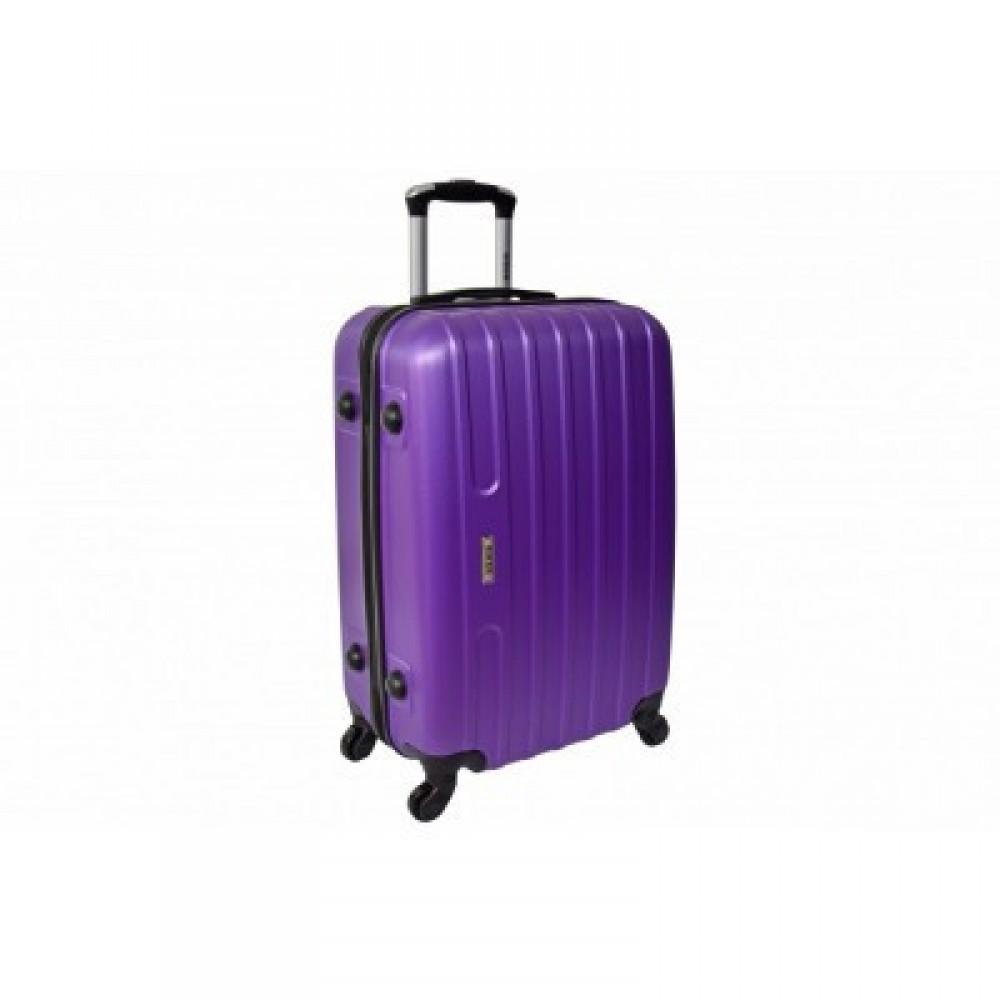 Чемодан Siker Line большой, фиолетовый