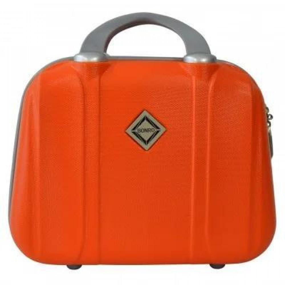 Сумка кейс саквояж Bonro Smile средний, оранжевый