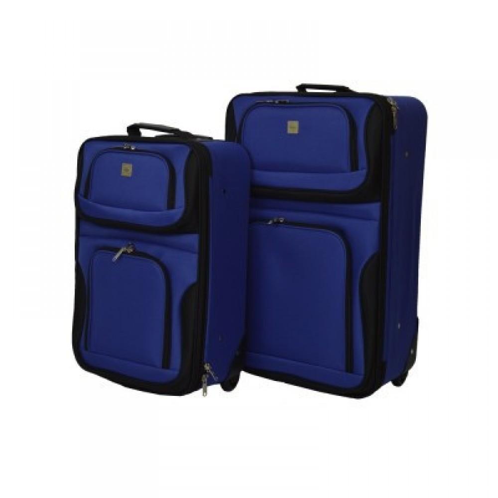 Набор чемоданов Bonro Best 2 шт, синий