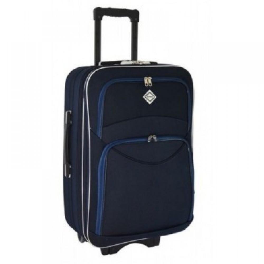 Текстильный чемодан Bonro Style большой, синий