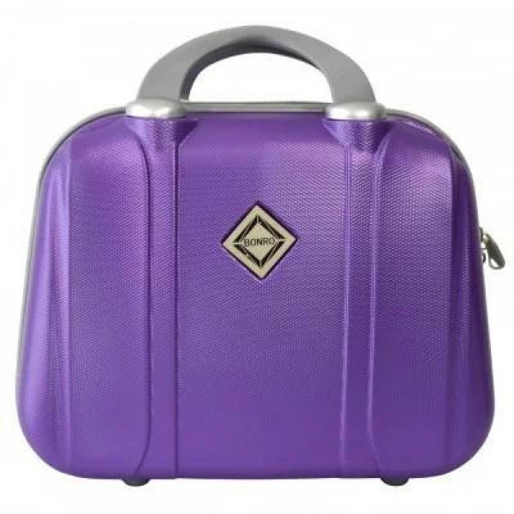 Сумка кейс саквояж Bonro Smile средний, фиолетовый