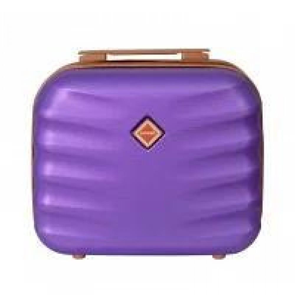 Сумка кейс саквояж Bonro Next средний, фиолетовый