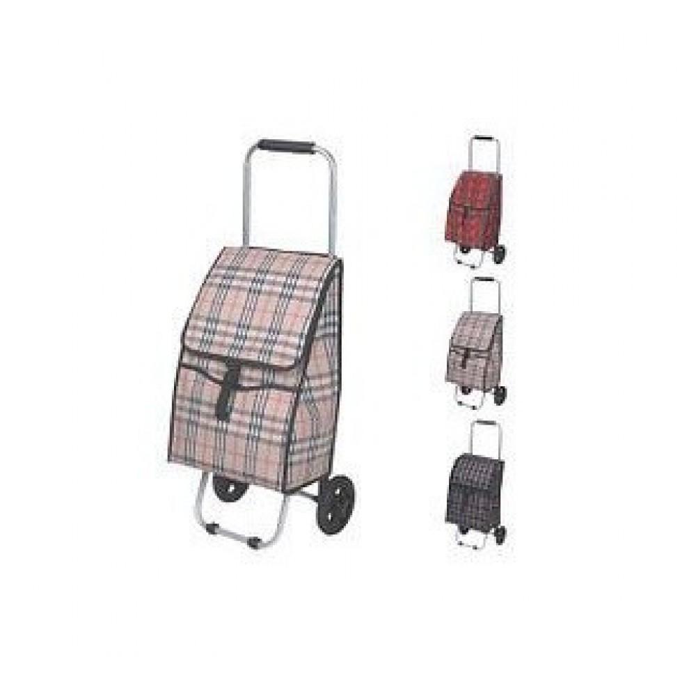 Тачка-сумка хозяйственная для покупок 80 см MH-1894