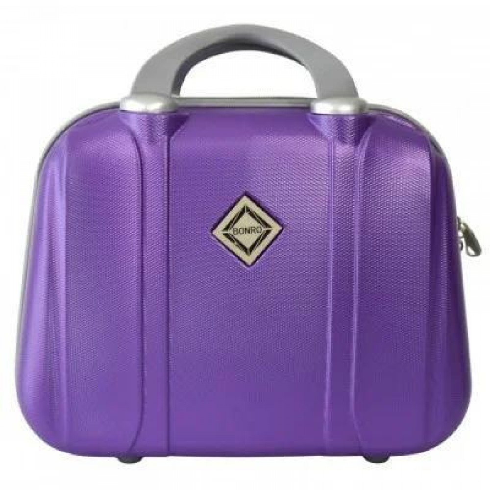 Сумка кейс саквояж Bonro Smile большой, фиолетовый