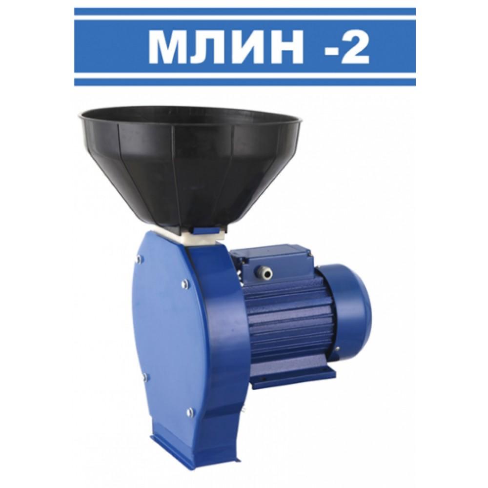 Кормоизмельчитель (зернодробилка) 1,8 кВт МЛИН-ОК МЛИН-2