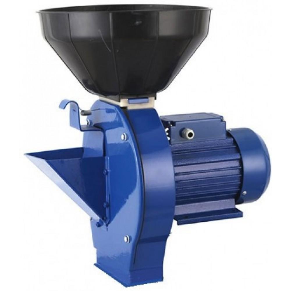 Кормоизмельчитель (зернодробилка) 1,8 кВт МЛИН-ОК МЛИН-1 (зерно + корнеплоды)