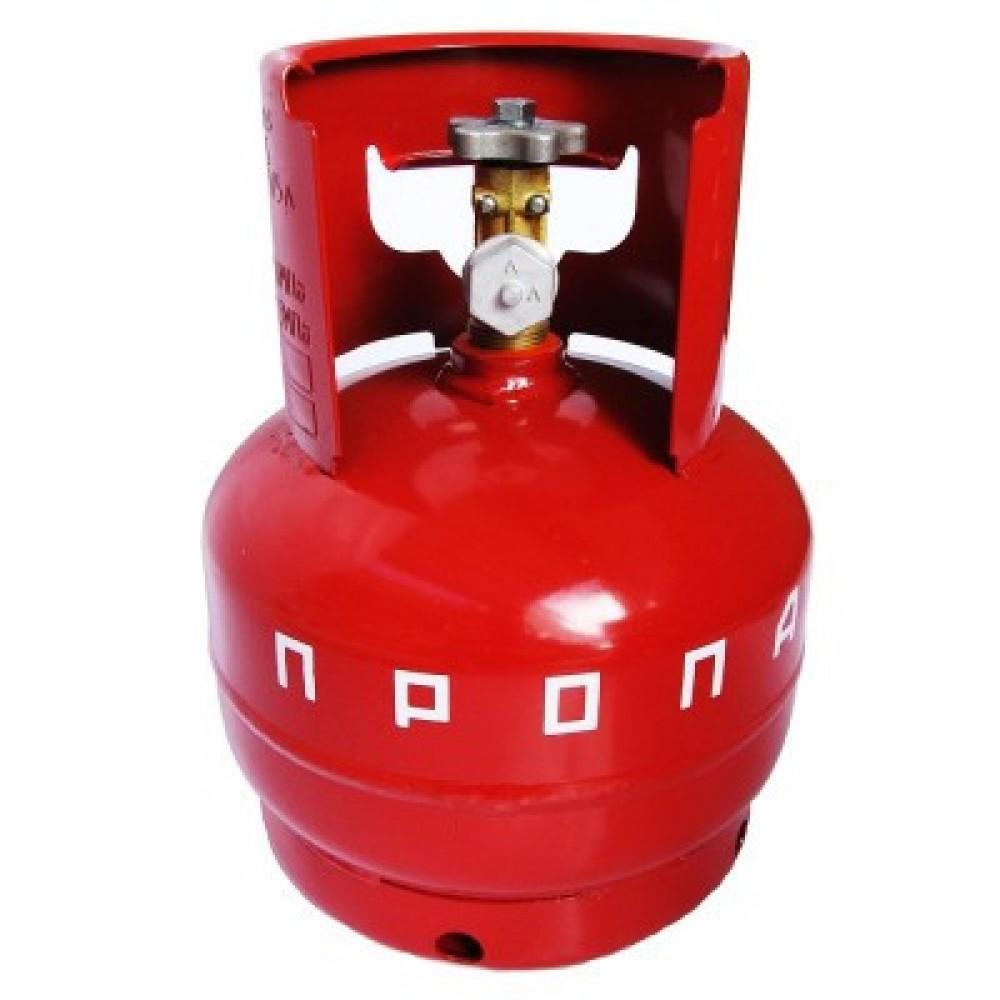 Баллон газовый бытовой 5 литров, бутан, Novogas, Беларусь