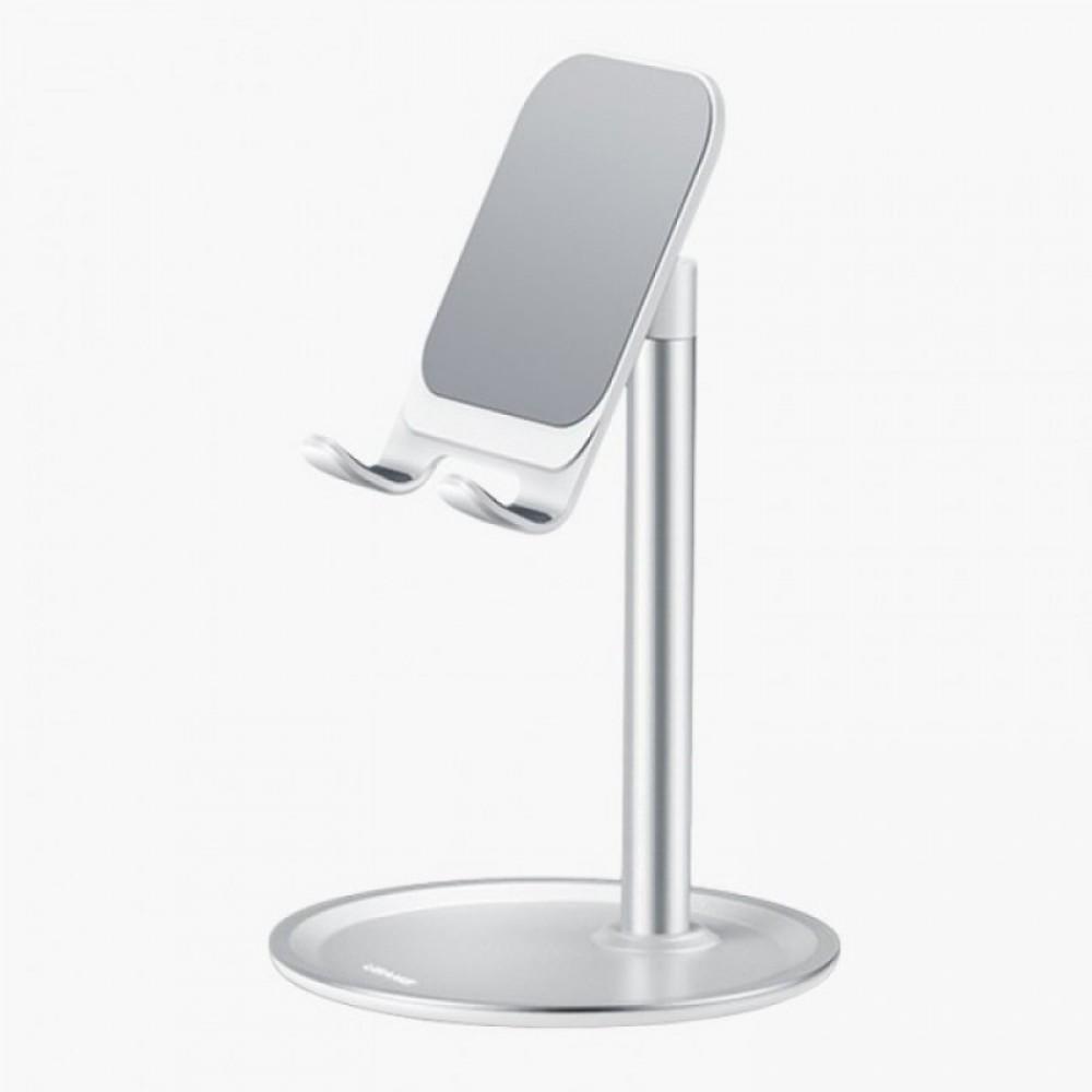 Настольная подставка для телефона Hoco PH15 Aluminum alloy table stand Silver