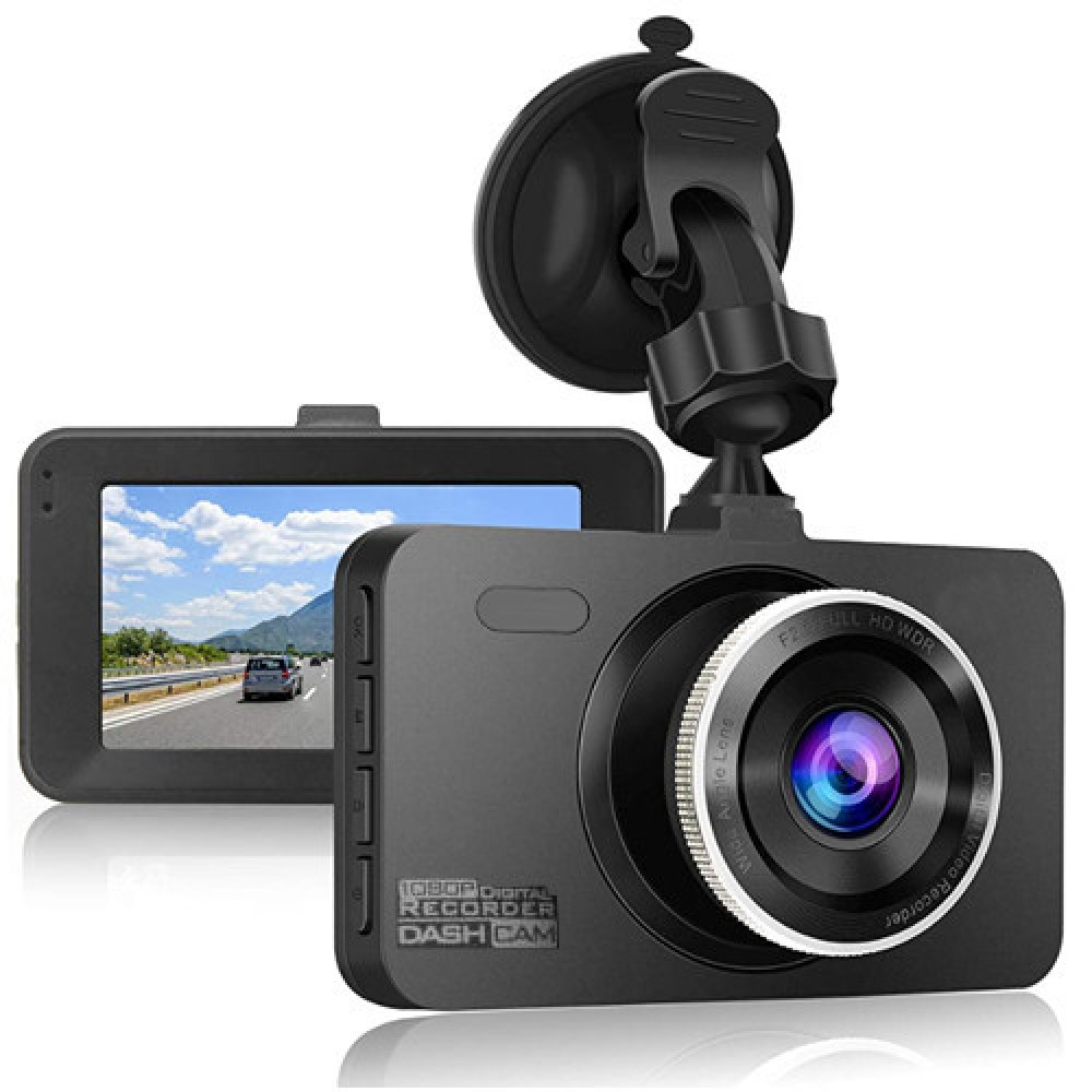 Автомобильный видеорегистратор зеркало Terra 9003 две камеры