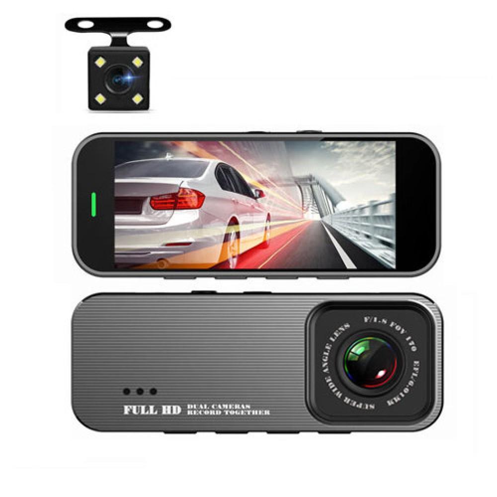 Автомобильный видеорегистратор зеркало Terra 1031 две камеры