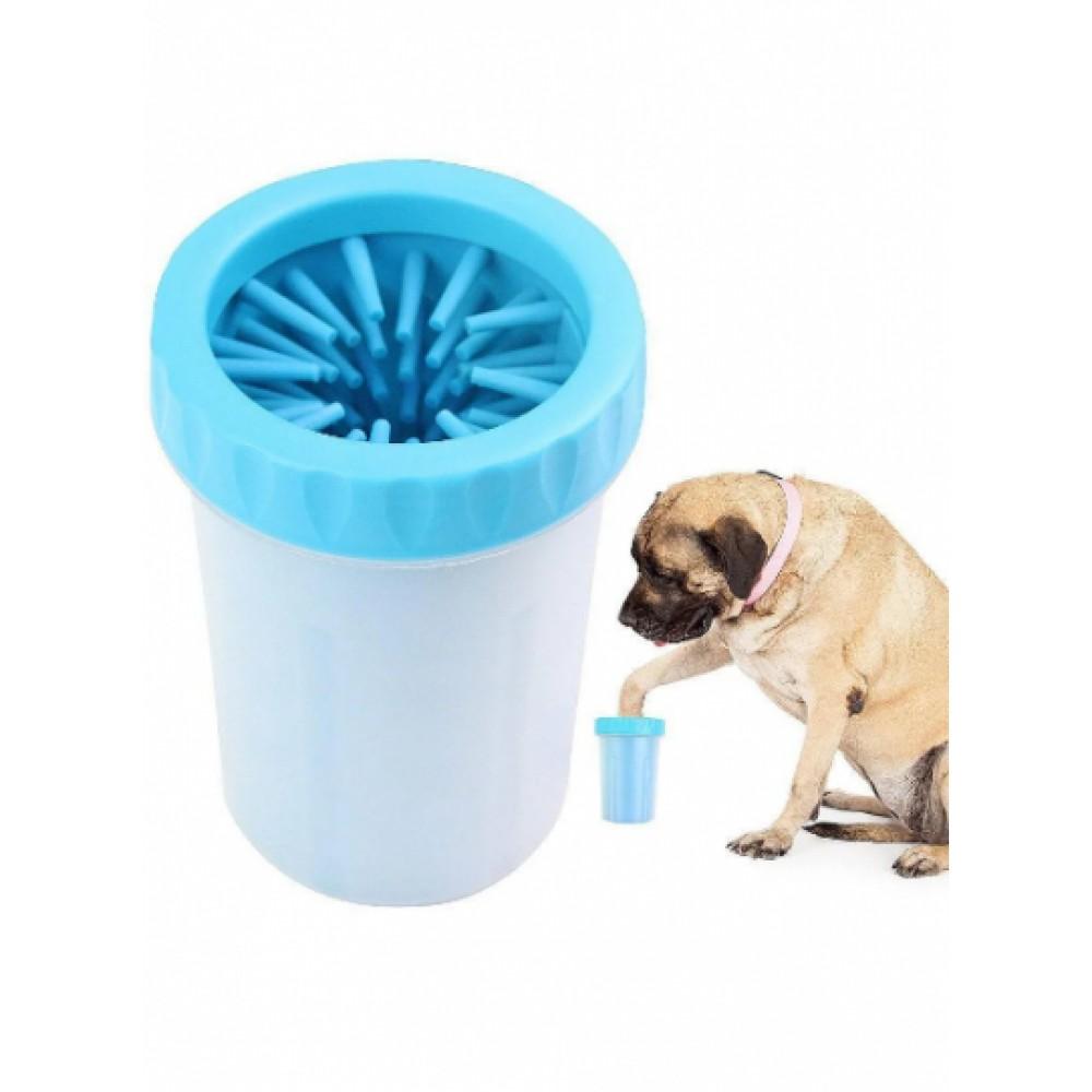 Стакан для мытья лап, лапомойка для собак Soft pet foot cleaner MEDIUM